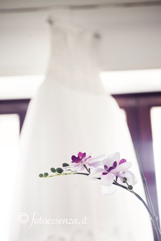 Detail for a Wedding. Flowers.