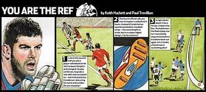 You are the Ref No361: Fraser Forster