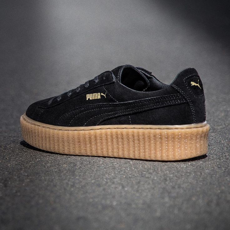 puma creepers noir marron