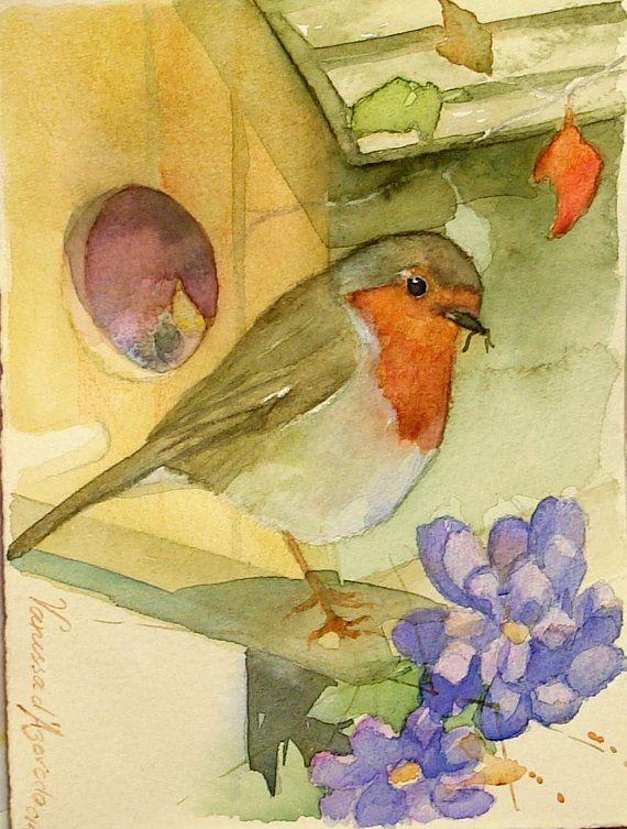Robin's bird house