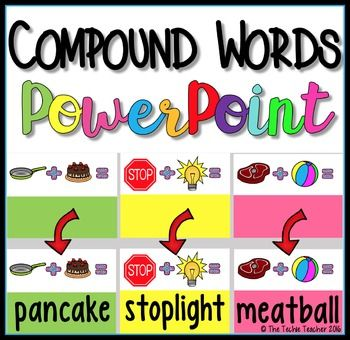 67 best COMPOUND WORDS images on Pinterest | Compound word ...