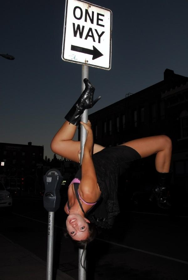 Another pose for summer photo shoot. City Pole Fitness