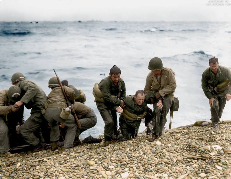 25 mind blowing colourised images of WWII - http://www.warhistoryonline.com/war-articles/66362.html