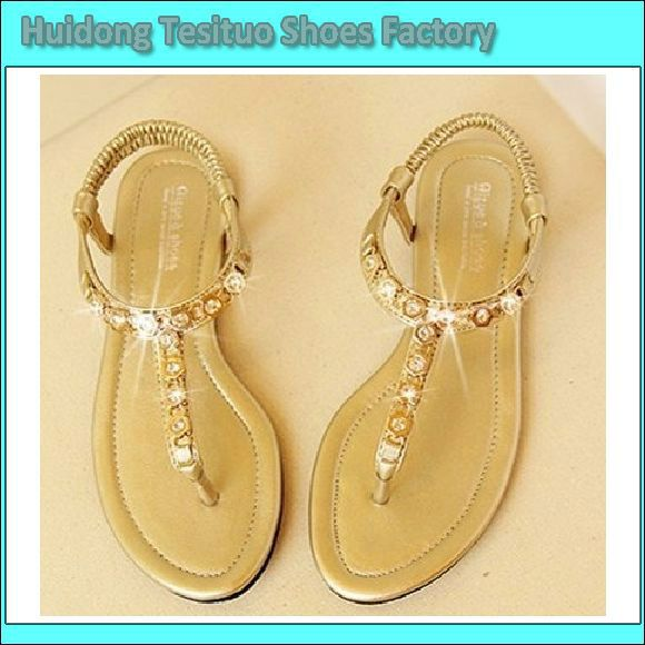 Fashion flat summer sandals 2014 for women $6~$10