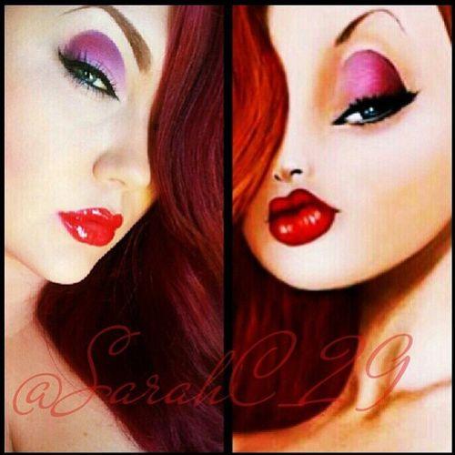 Jessica Rabbit Makeup Look - Cosplay - Halloween Costume - Sugarpill Cosmetics