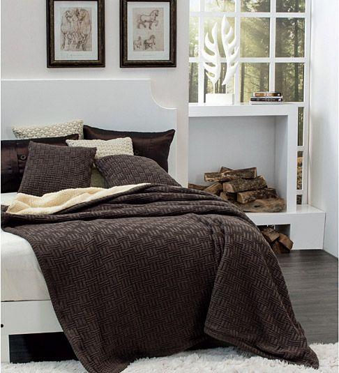 Cobertor Nórdico Chocolate