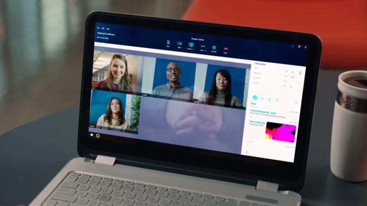 Chime : Amazon concurrence Skype for Business avec son propre service de visioconférence pro (Génération-NT)