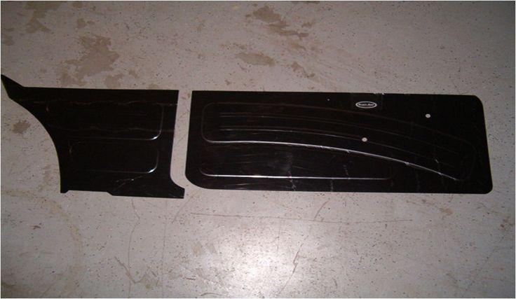 Auto door panel