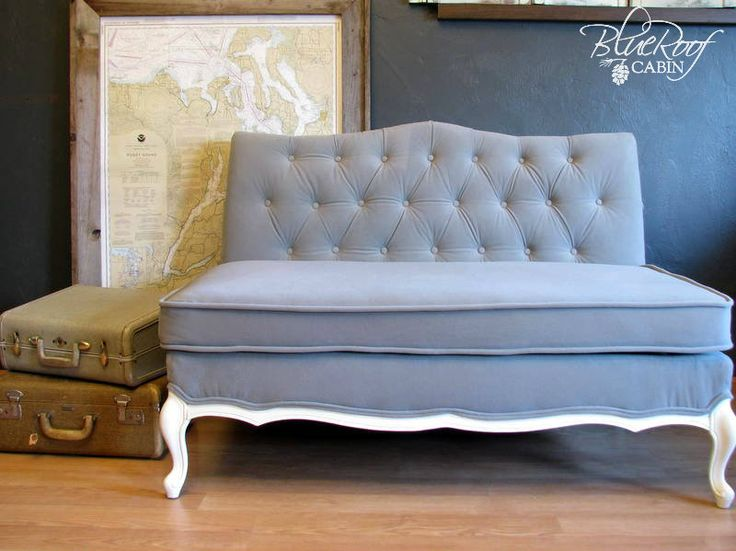 The Vintage Sofa Project   http://www.blueroofcabin.com/2012/10/the-vintage-sofa-project.html