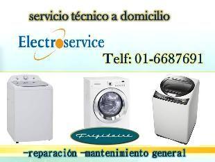SOPORTE TECNICO FRIGIDAIRE   988036287 Somos una empresa peruana enfocada al servicio de  reparación de centro de lavado frigidaire, refrigeradora  frigidaire, lavadora frigidaire, secadoras frigidaire, campanas  extractoras Frigidaire. Ofreciendo un excelente servicio respaldado por personal  capacitado, usando repuestos originales, dando la tranquilidad que sus  electrodomésticos quedaran en un buen funcionamiento. SOLICITE LA VISITA TECNICA: 2748107 / 6687691  /