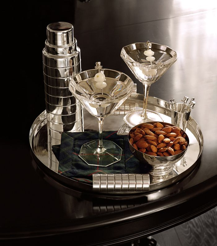 Wow the entertainers on your list with modern home accessories from the Apartment No. One collection. from Ralph Lauren Home