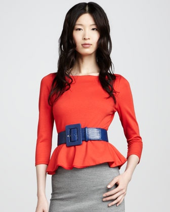 Patty Peplum Top by Alice + Olivia: T5Egl Alice, Gorgeous Tops, Peplum Tops, Olivia Patties, Red Poppies, Fall 2012, Personalized Style, Patties Peplum, Alice Olivia