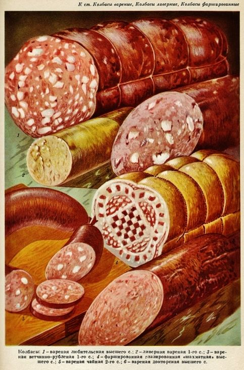 Vintage Russian Foodstuff