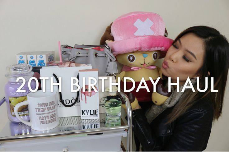 Birthday haul is now up on my channel!! Link is in the bio
