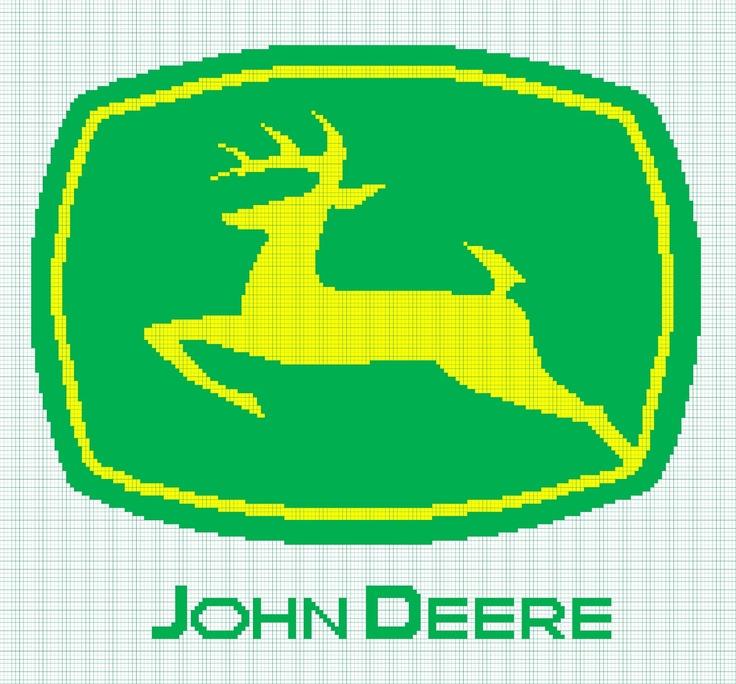 John Deere Afghan, free chart