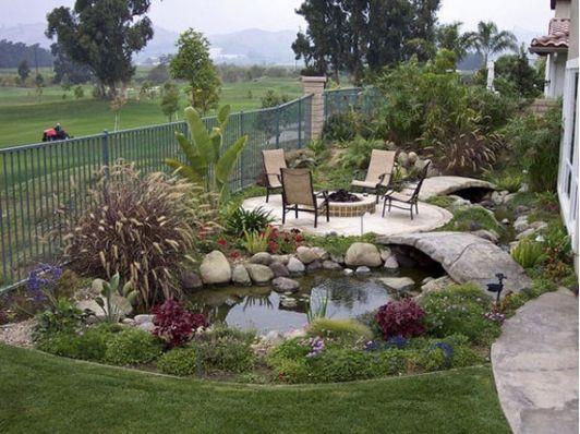 Summer Relaxing Pond Ideas - Home and Garden Design Idea's