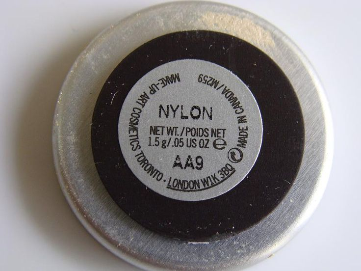 mac nylon eyeshadow review