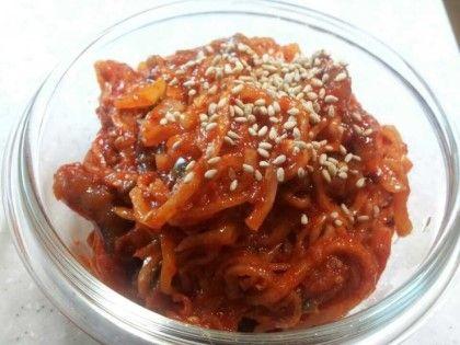 [맛있는 반찬]낙지젓갈 맛나게 만들기 : 네이버 블로그