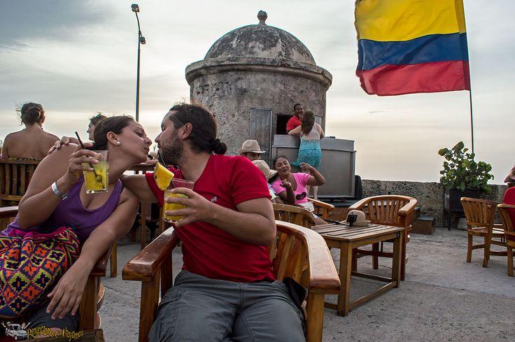 Cartagena la Joya colonial de Colombia. Es una de las ciudades por no decir la ciudad más conservada de América.