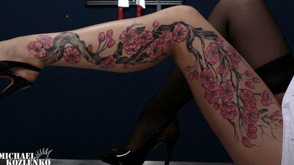 54 Leg tattoos for women