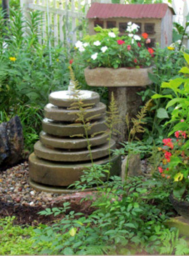 image result for wilton cake pan concrete stone fountainsgarden