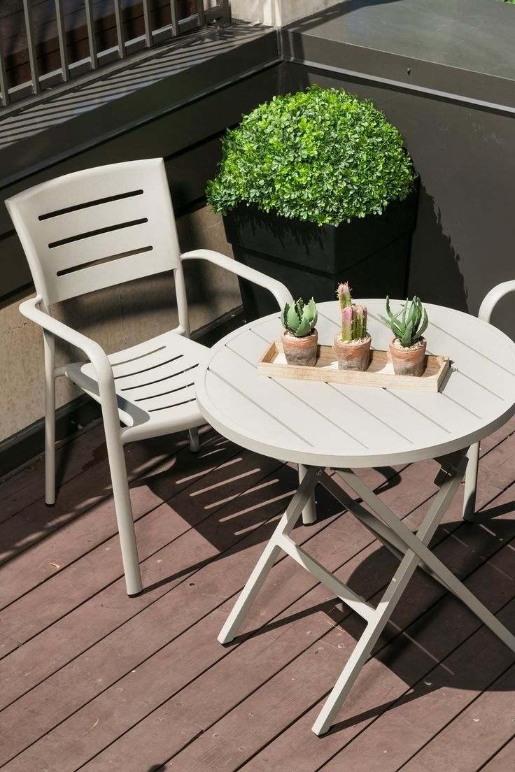 Table Bistro Azure Outdoor Furniture Sets Outdoor Decor Table