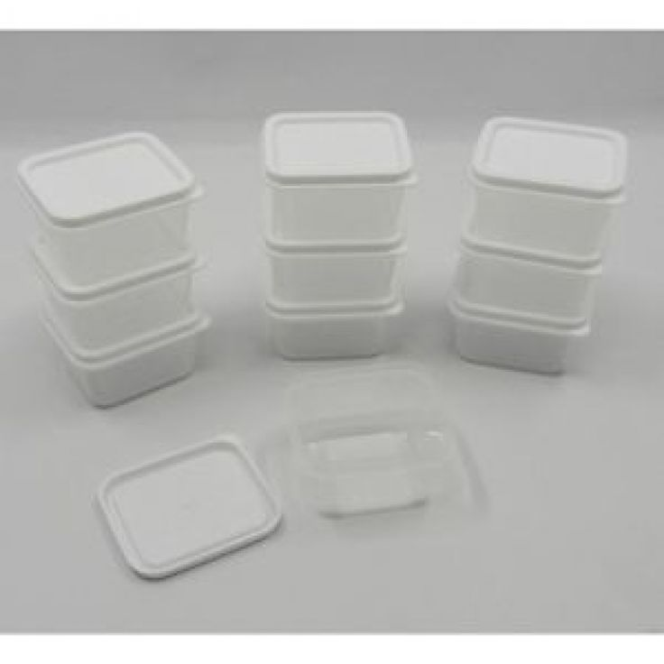 20-New-Mini-Small-Plastic-Craft-Storage-Containers-w-Lids-Rectangle ...