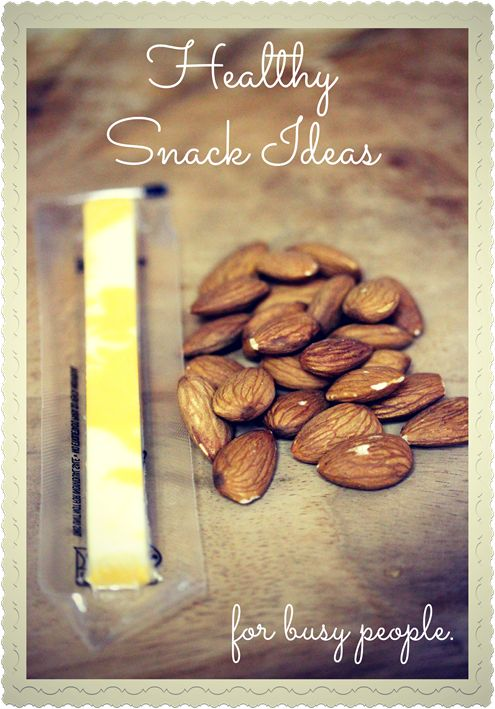 Here for you I have some healthy snack ideas. They will get you through until your next meal, easy, quick, and filling! | fannetasticfood.com