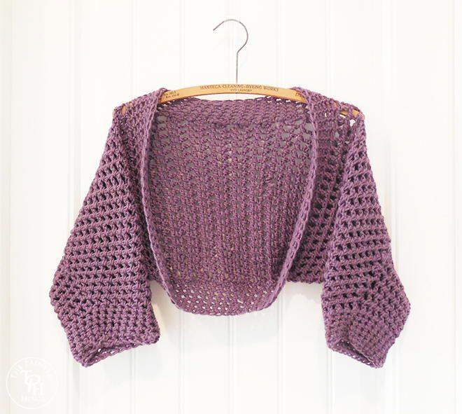 129 Best Crochet Shrug Images On Pinterest Crochet Batwing Tops