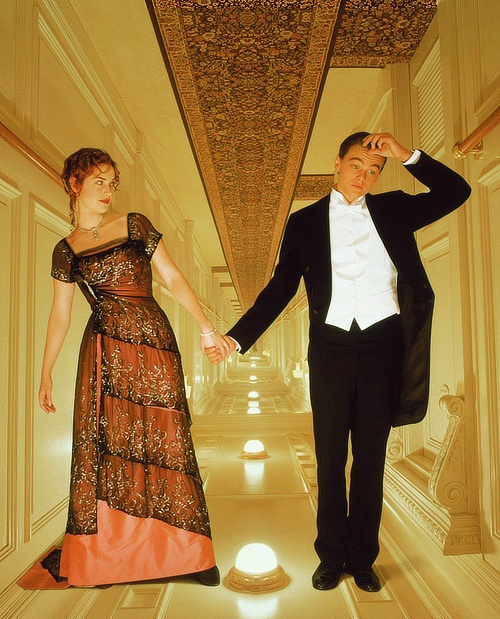 Rose & Jack. Titanic.