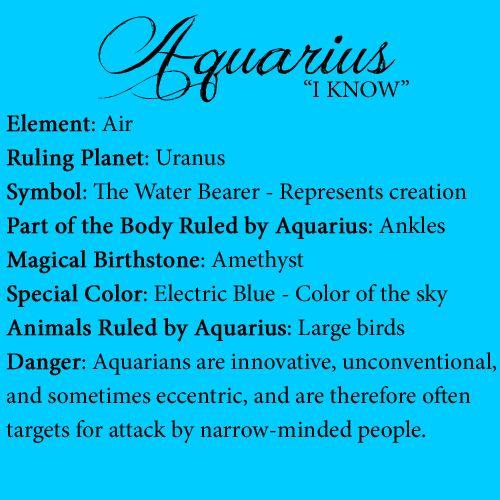 Aquarius Quotes And Sayings