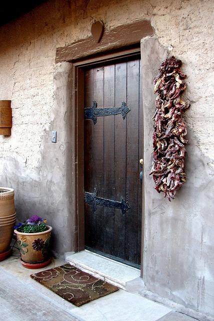 17 Best Ideas About Southwestern Front Doors On Pinterest