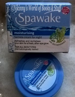 #ProductReview: Spawake Moisturising Fairness Cream For Night  http://go.shr.lc/21Sh1eh   Buy from AMazon: http://amzn.to/1TPiiz7   #BBlogger #LikedIt #Recommended #FairnessNightCream #SeaMinerals #AfterSpaGlowAtHome