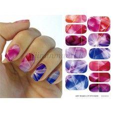 Värikkäät Kristalli Kynsitarrat