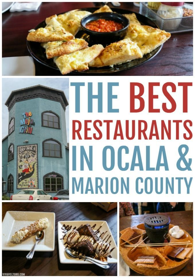 If You Re Visiting North Central Florida Don T Miss A Trip To Ocala Here Are The Best Restaurants In And Marion County Ocalamarion Ad