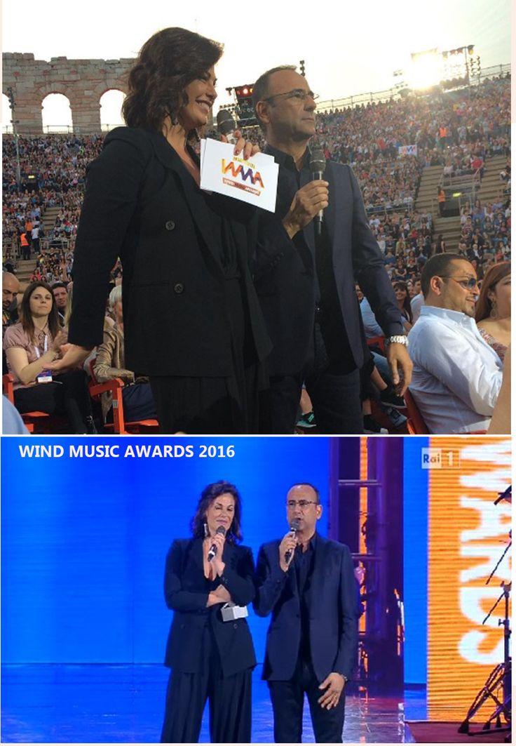 Vanessa Incontrada ai Wind Music Award 2016 con giacca Mantù!