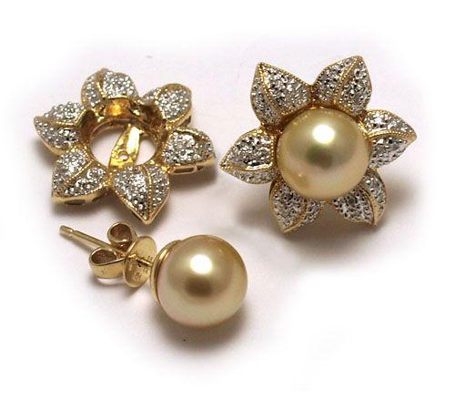 Diamond Earring Jackets