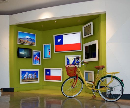Entorno colaborativo: oficinas de Google en Santiago de Chile,Cortesía de Google Chile
