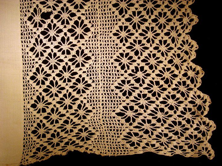 1880s lace by Fairfield IA native Mary Ellen Sheward Huntzinger.