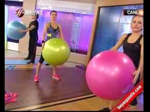 Ebru Şallı İle Pilates (Plates) - 30.11.2012 - YouTube
