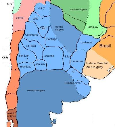 """Así era """"Argentina"""" en 1850"""