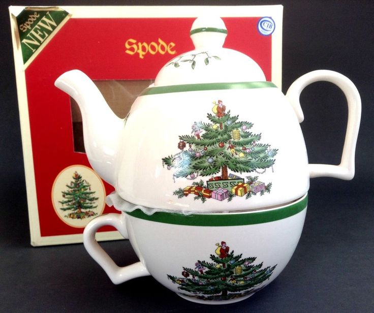 18 Best Spode Christmas Table Setting Images On Pinterest  - Spode Christmas Tree Coffee Pot