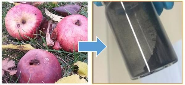 Researchers at Germany's Karlsruhe Institute of Technology have come up with an energy storage solution that could make good use of waste from the country's apple processing industry. T…