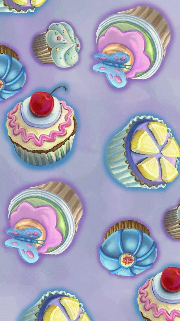 Aztec Print Wallpaper Hd Cupcakes Purple By Karyn Servin Also Found On Http Www