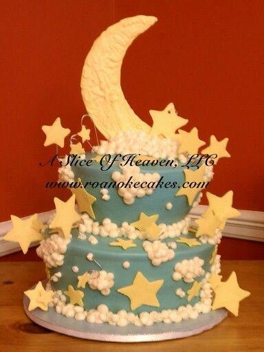 Baby Shower Cake Nuetral