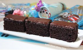 I Love. I Cook. I Bake.: Crazy Chocolate Cake With Dark Chocolate Frosting