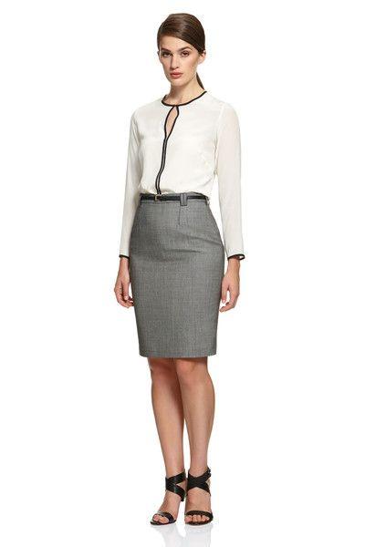 Women's Fashion, Women's Fashion Winter, Women's Fashion for work, Women's Skirt, Women's Corporate Fashion, Godwin Charli