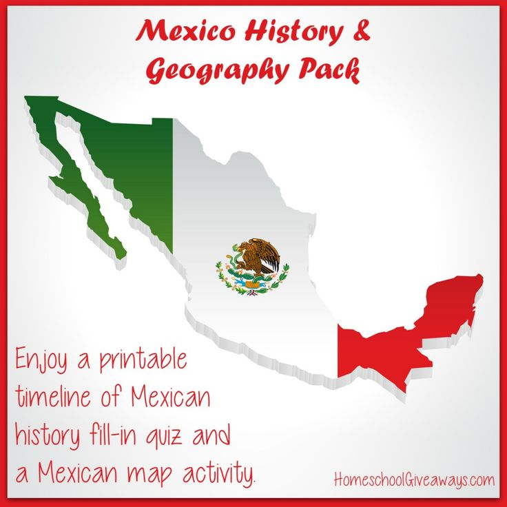 Free Mexican History and Geography Pack