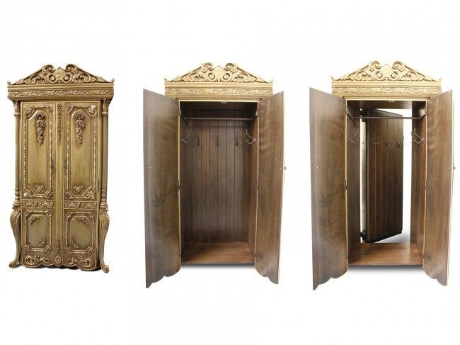 Good Ideas For You | 20 Hidden Doors and Secret Passageways. I want this. It looks like the wardrobe to Narnia