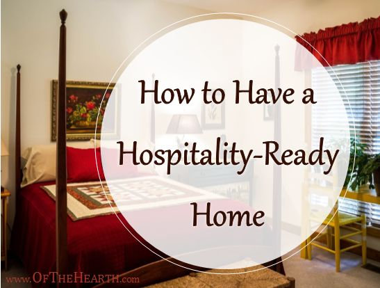 Does it take a lot of work to get your home ready for guests? See if these approaches would help you keep your home ready for hospitality.
